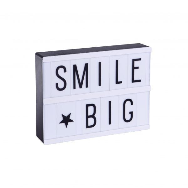 Lampe à message - Lightbox - A Little Lovely Company - Songes - Lightbox_A5