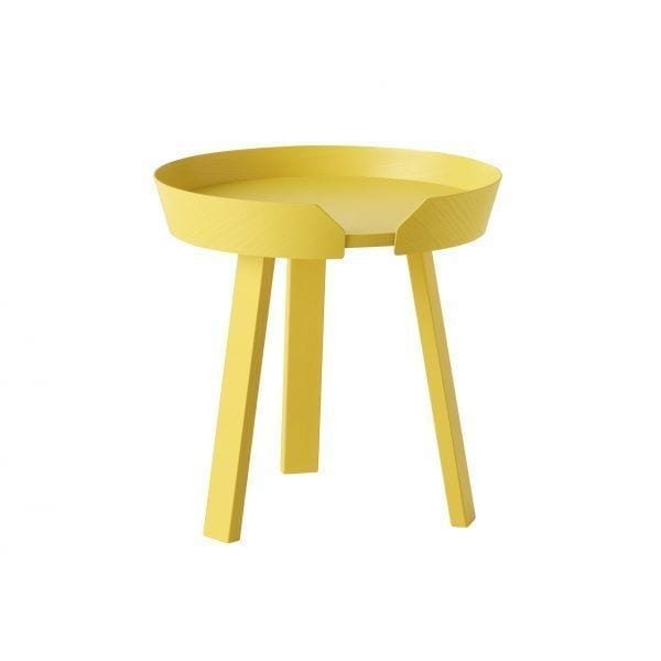 Table basse Around - Jaune - Muuto - Songes - 10065