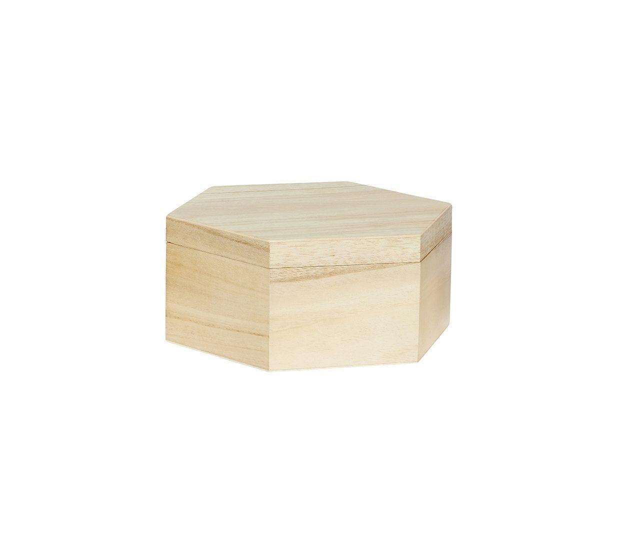 Boîte hexagonale - M