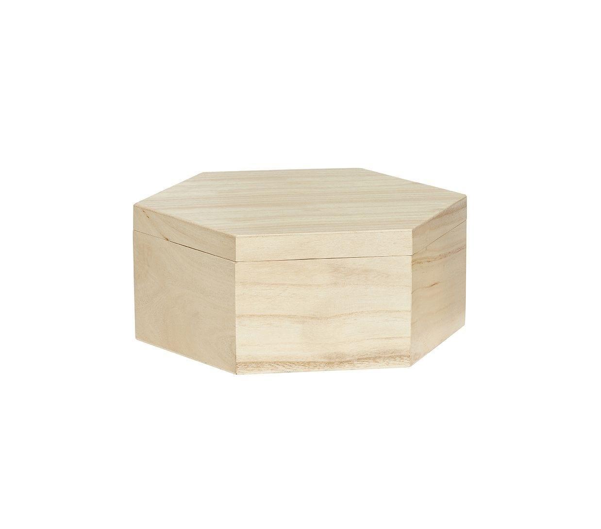 Boîte hexagonale - L