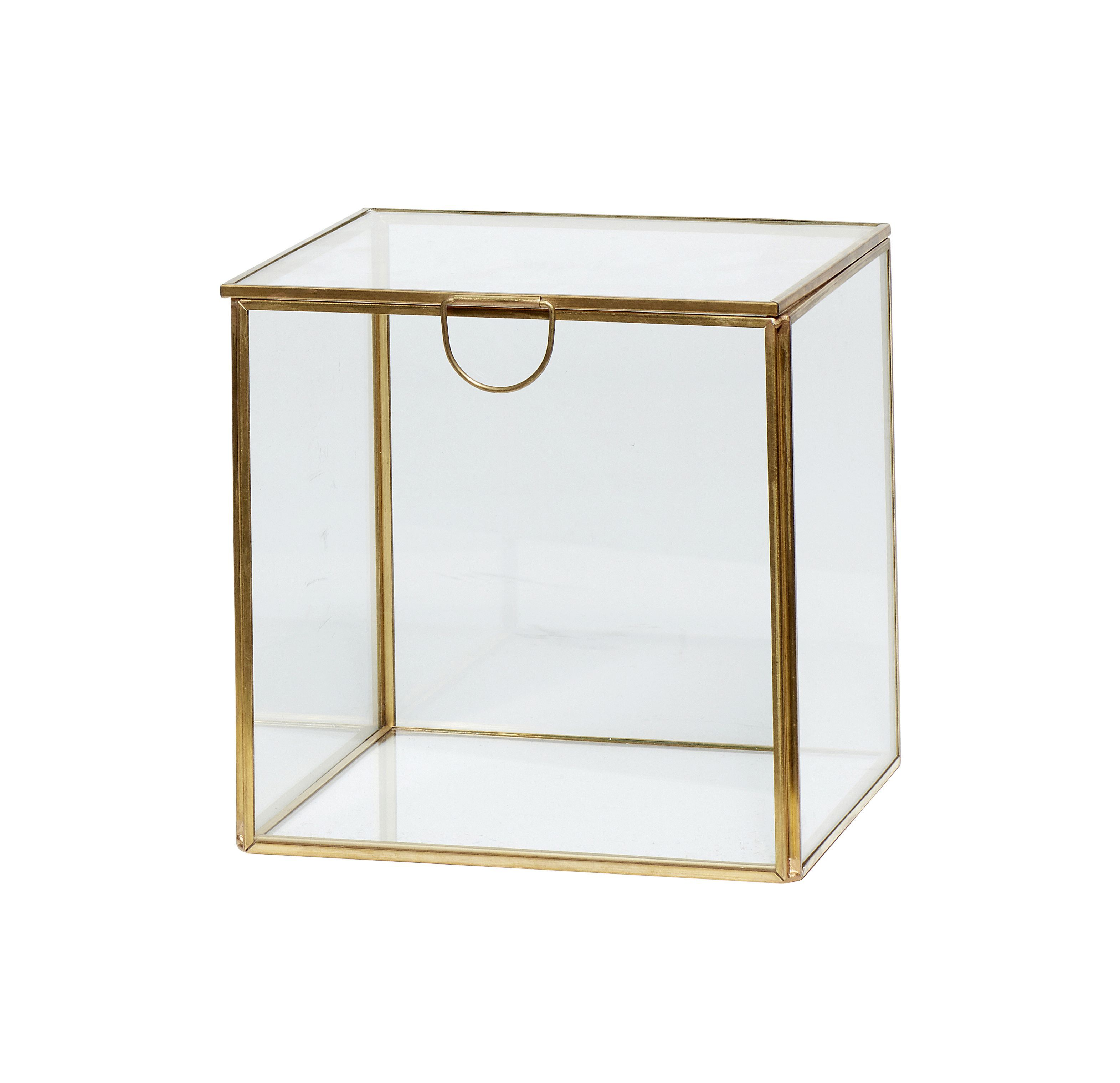 Boîte en verre - L