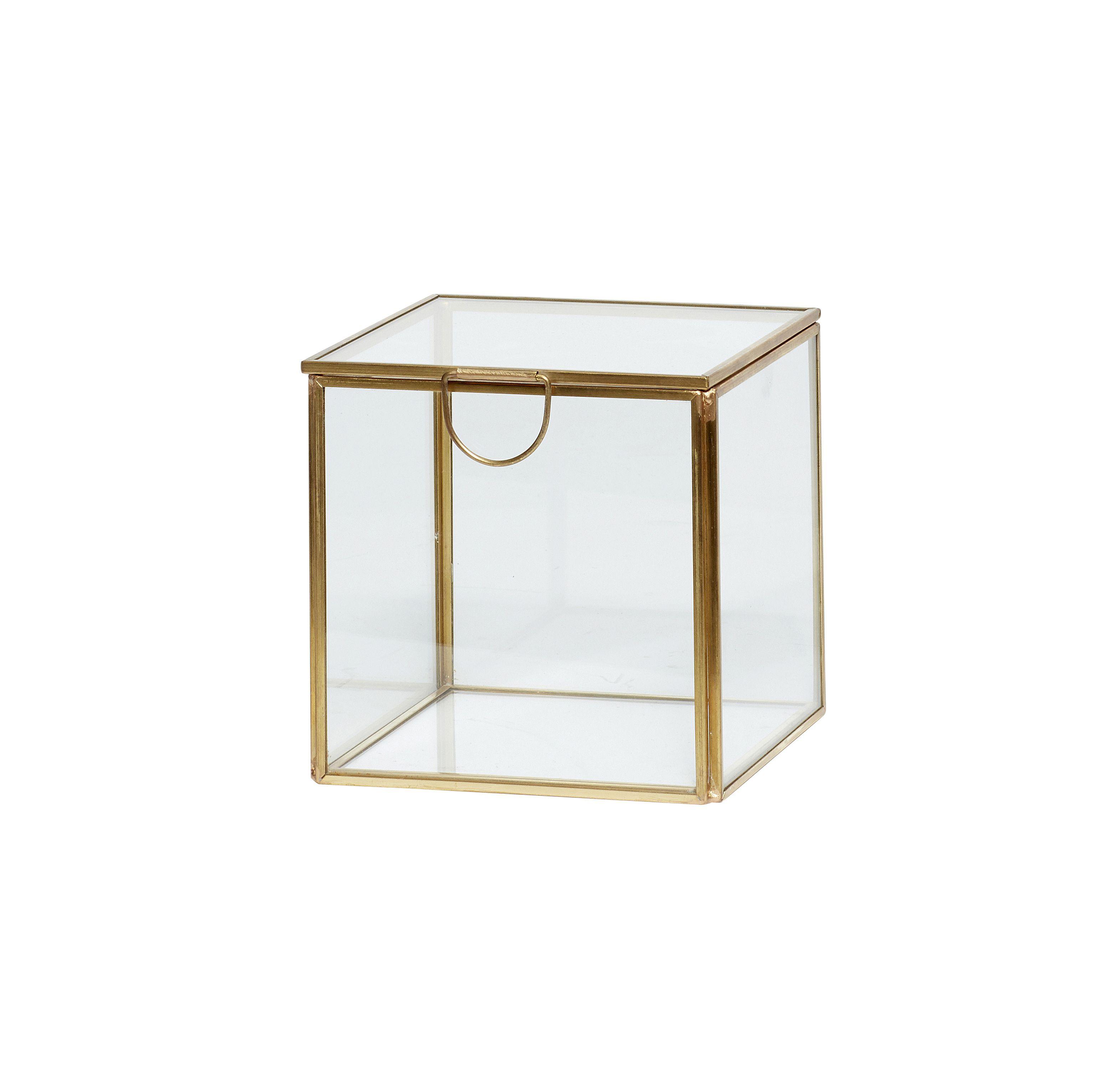 Boîte en verre - M