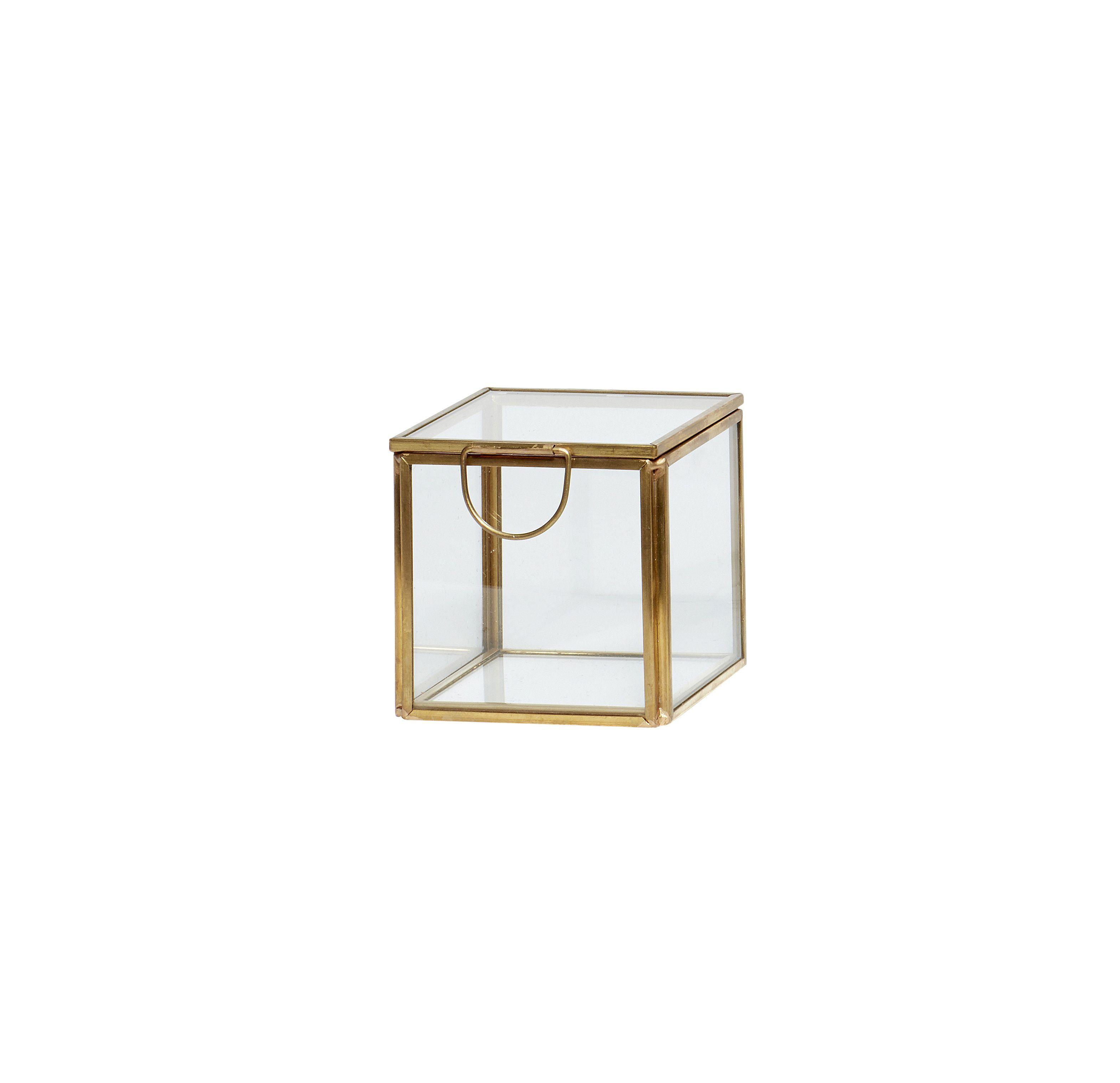 Boîte en verre - S
