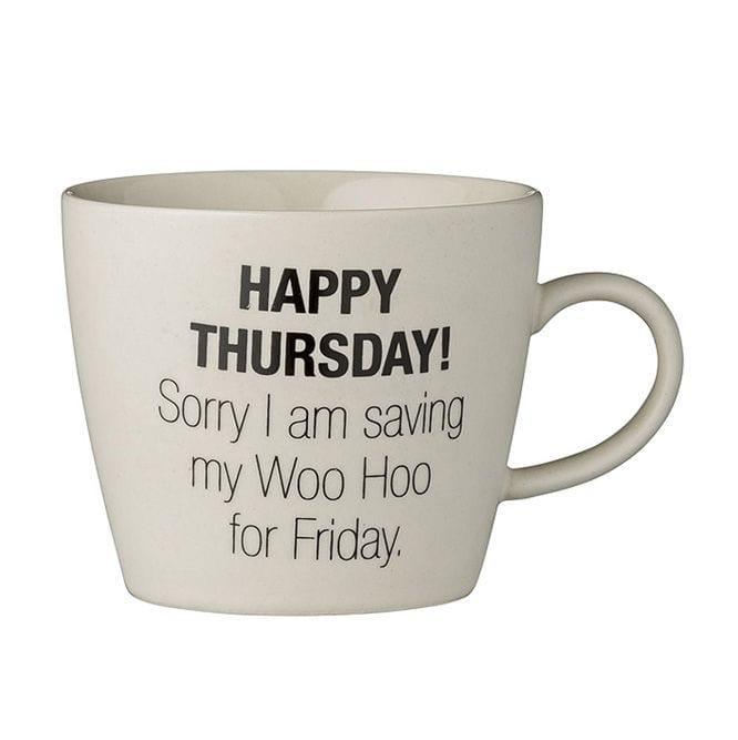 Weekday mug - Thursday