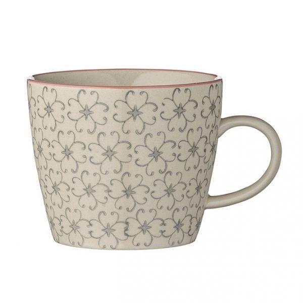 Mug Cécile - Gris - Bloomingville - Songes - 21100408_c
