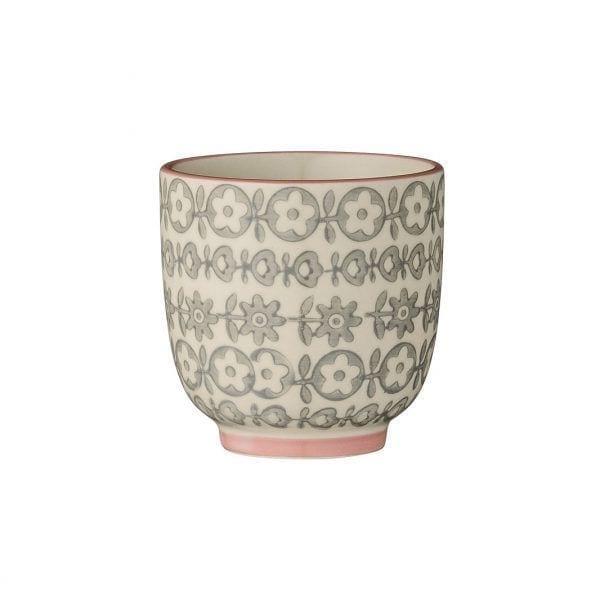 Mini mug Cécile - Gris - Bloomingville - Songes - 21100409_b