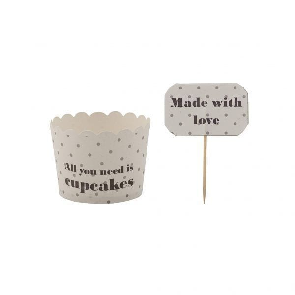 Pot en carton - Muffin (8pcs) - Bloomingville - Songes - 21212763