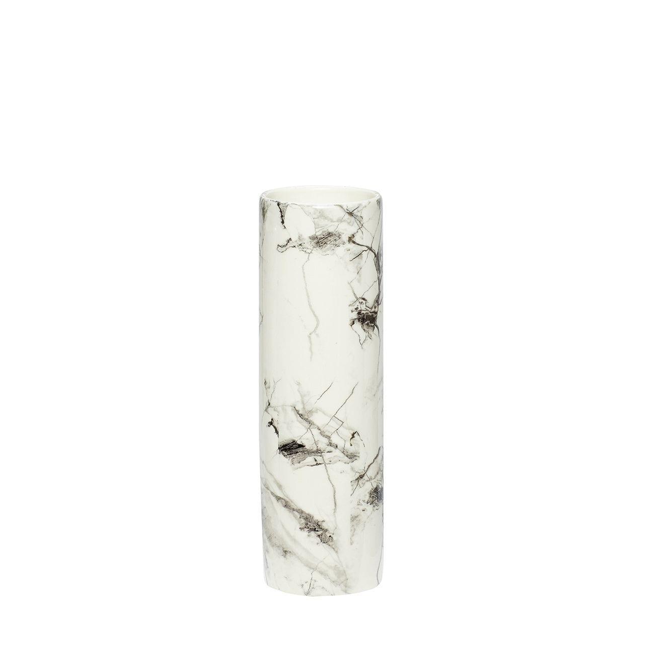 Vase motif marbre