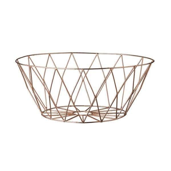 Panier métal - Cuivré - Bloomingville - Songes - 27400004