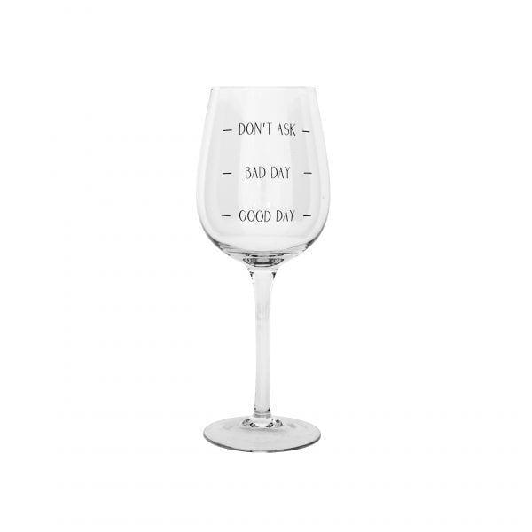 Verre à vin - Good day - Bloomingville - Songes - 32801650