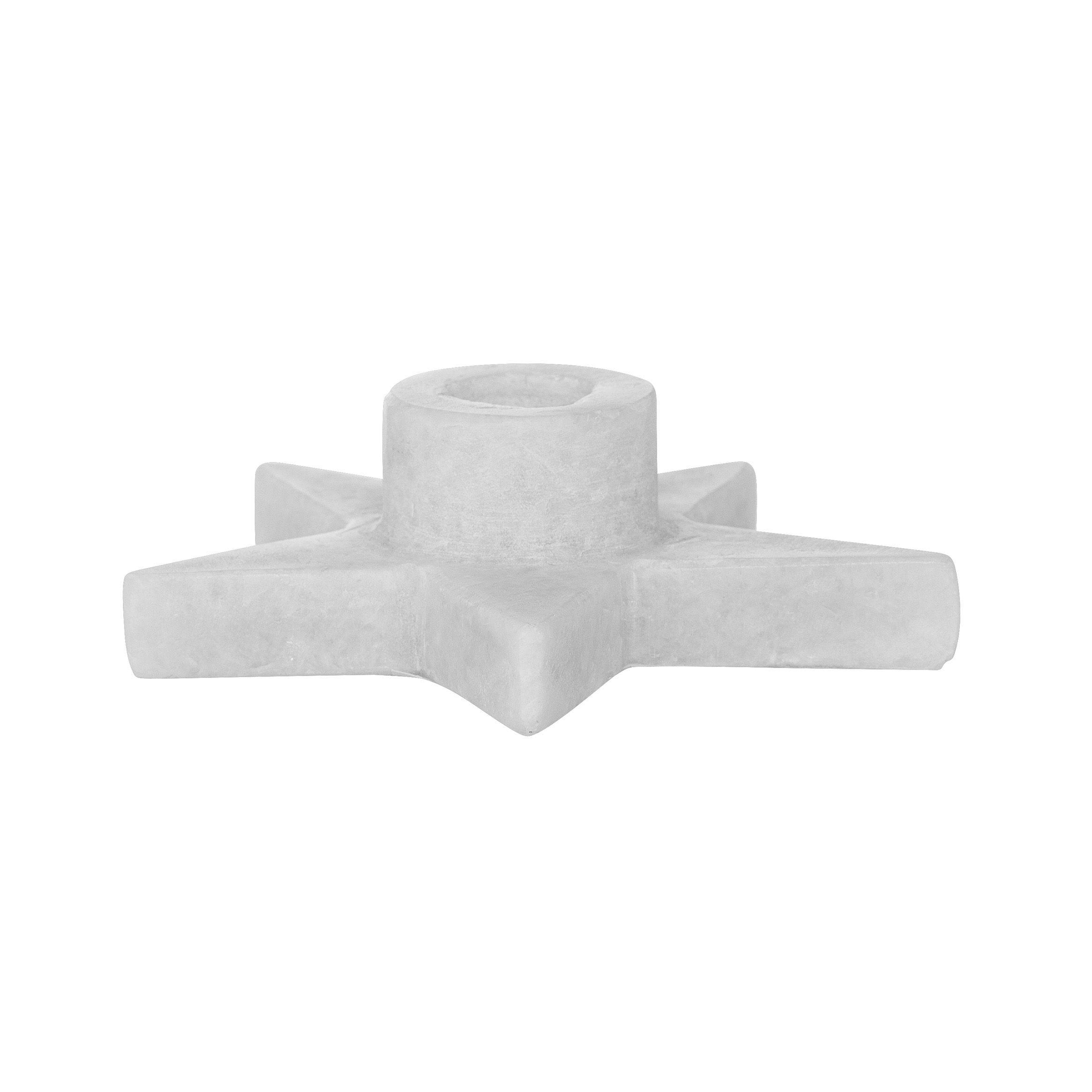 Bougeoir marbre - Etoile