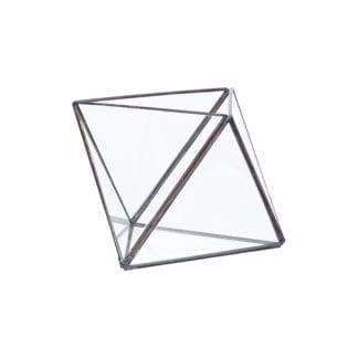 Terrarium en verre - Noir