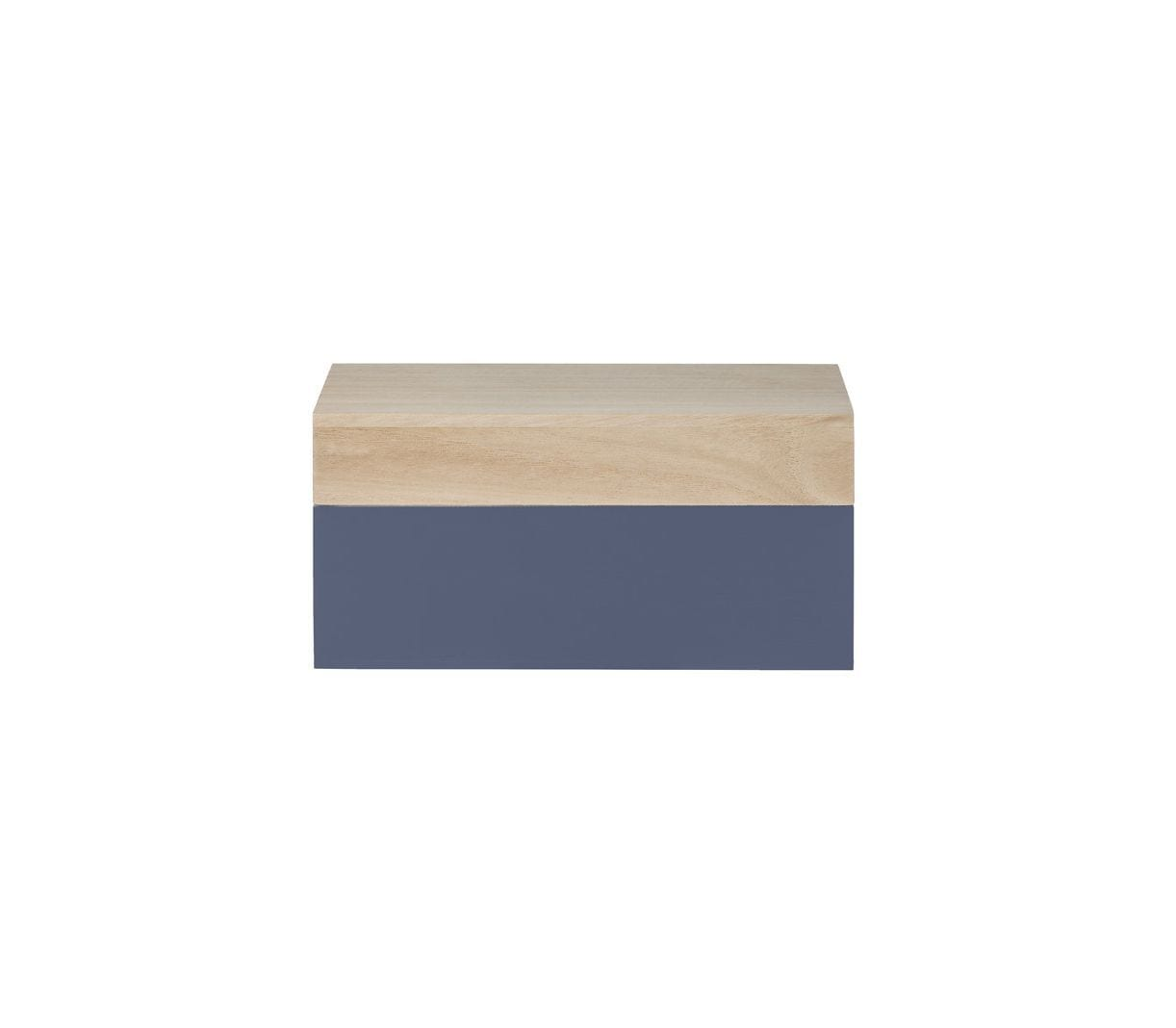 Boîte en bois XS - Gris