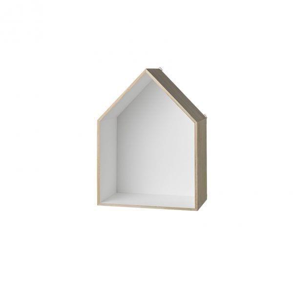 Étagère maison blanc - M - Bloomingville - Songes - 508061-b