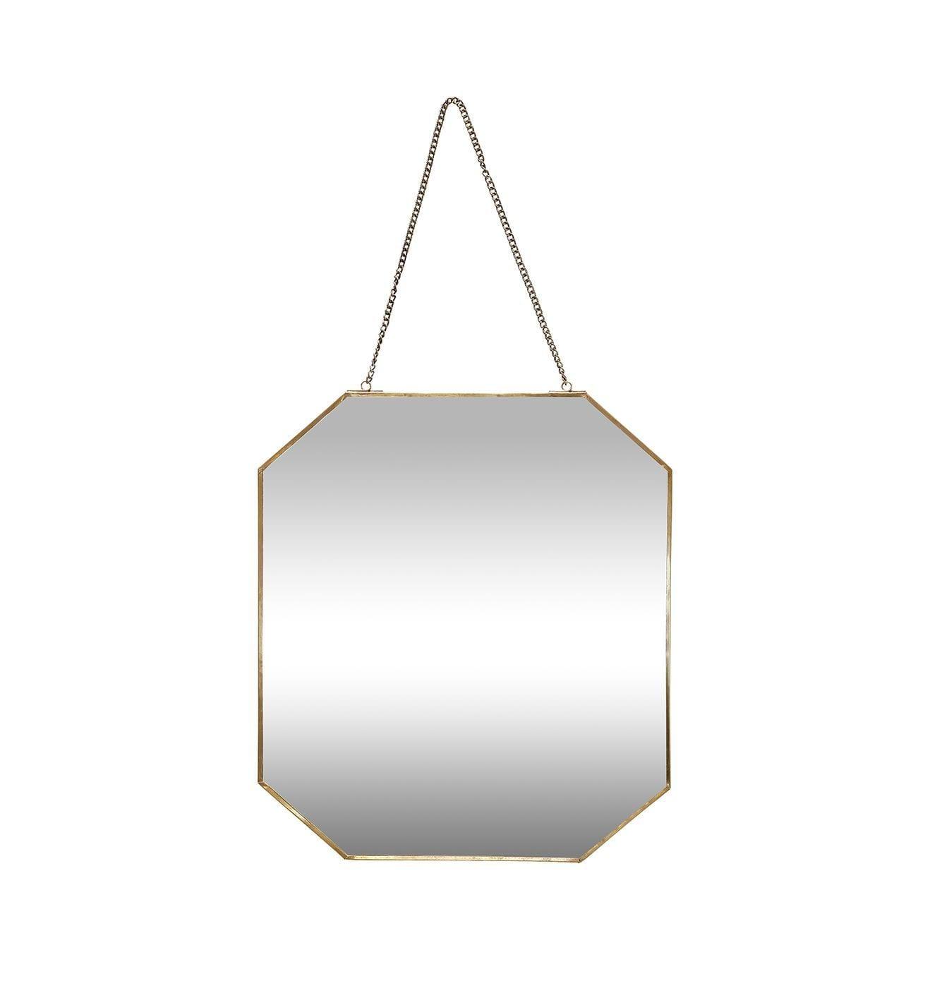 Miroir losange cuivr songes page 1 for Miroir octogonal