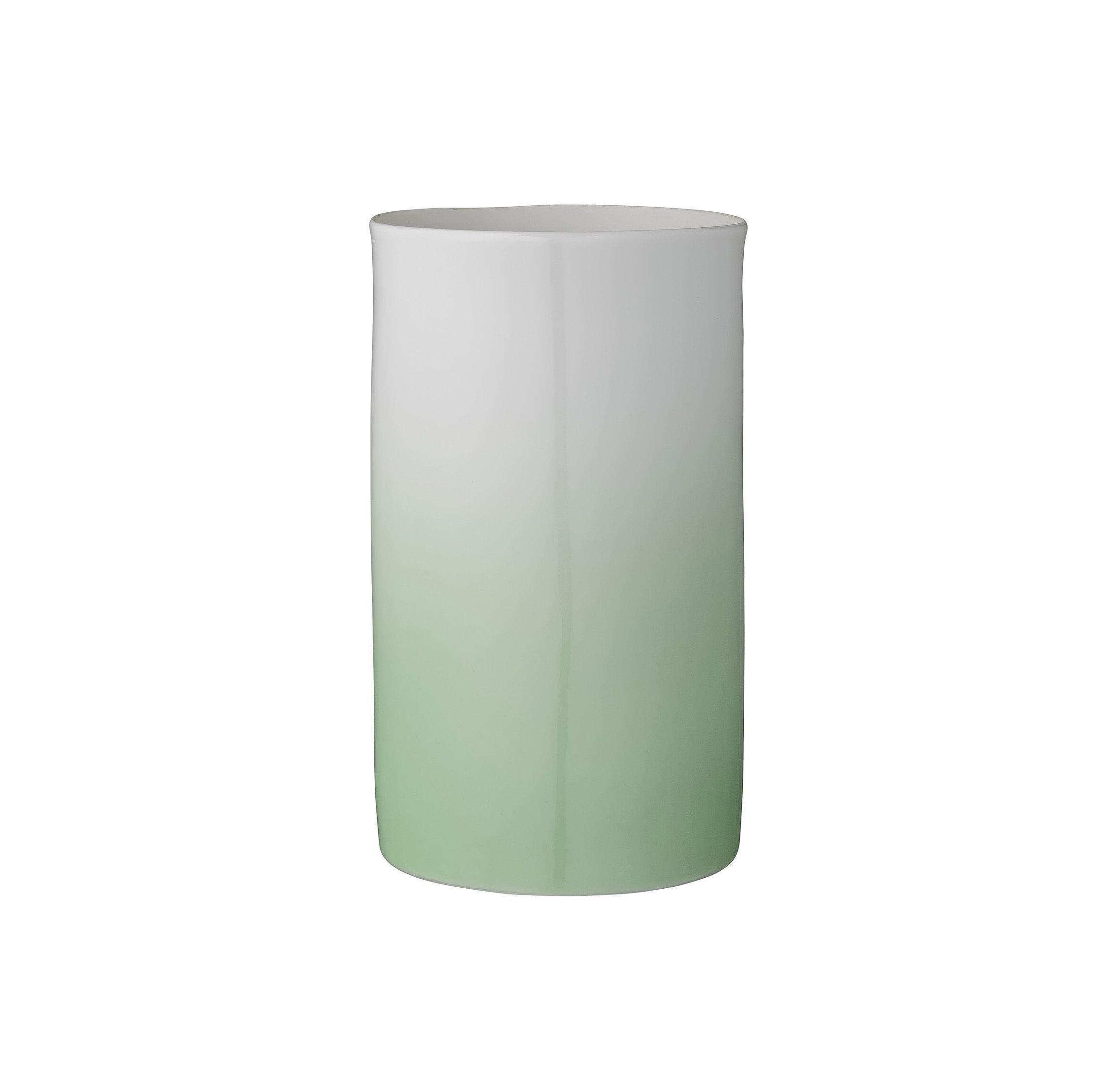 Vase dégradé - Vert