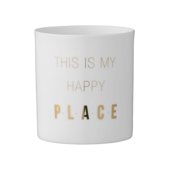 Photophore - Happy place - Bloomingville - Songes - 75200135
