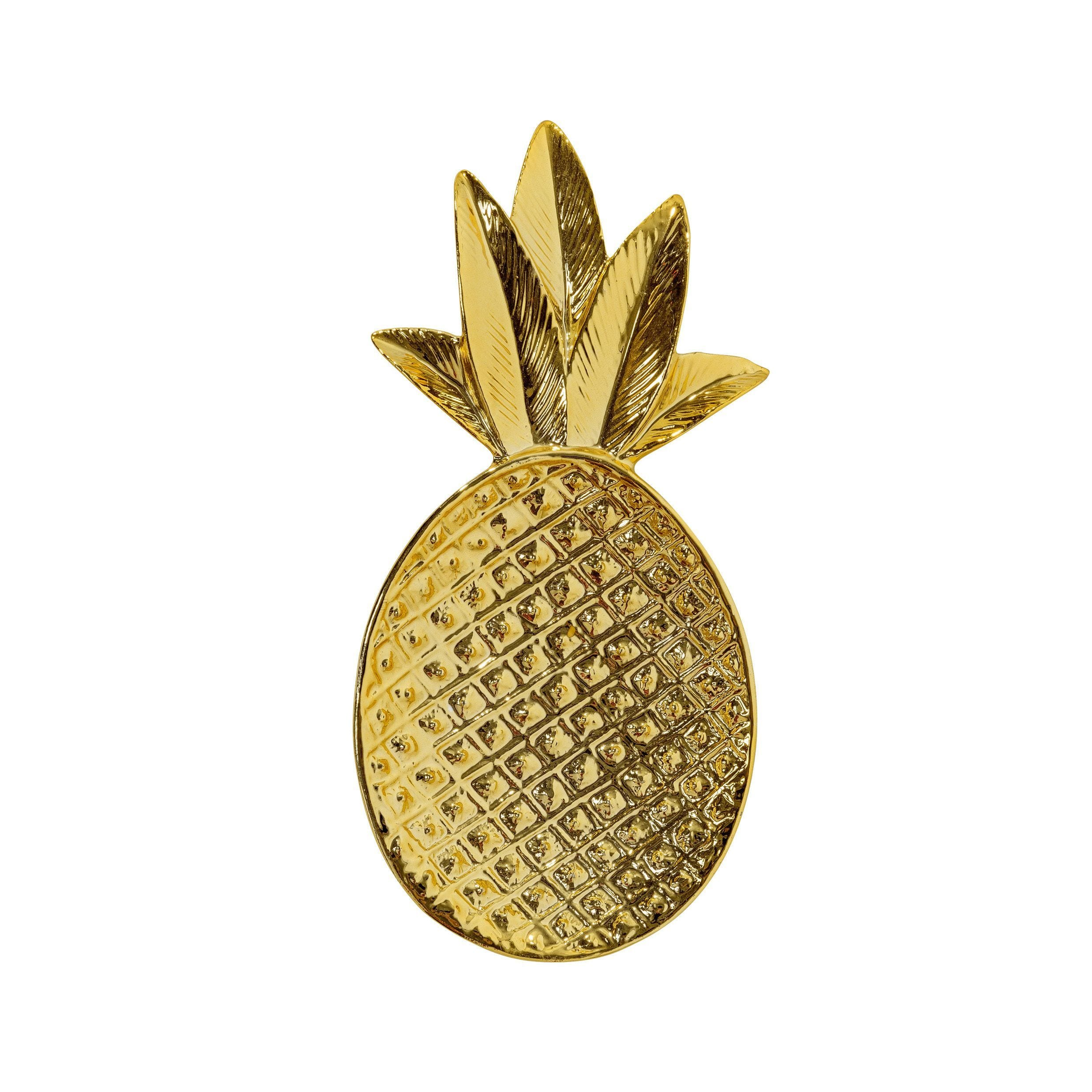 Coupelle ananas - Doré