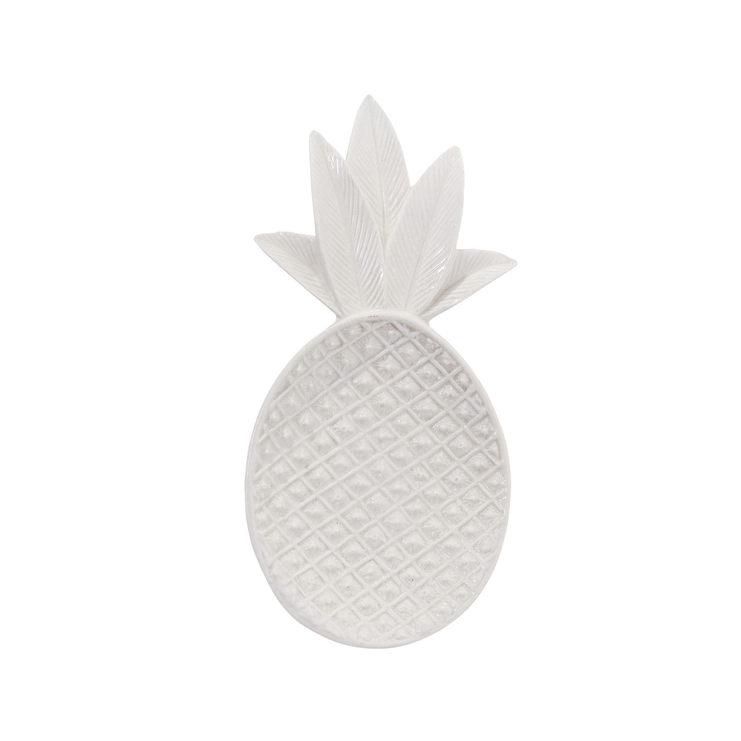 Coupelle ananas - Blanc