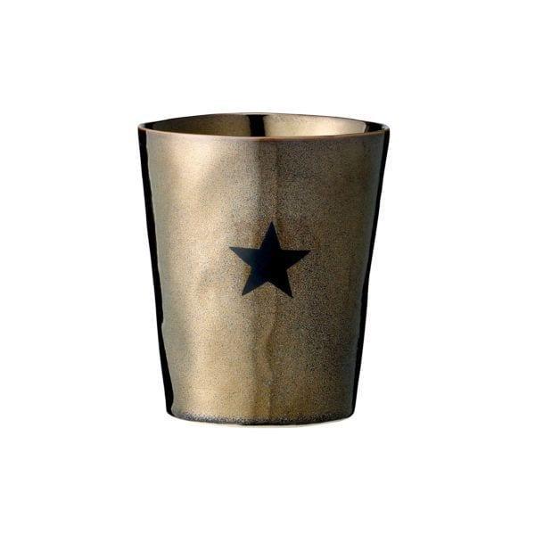 Photophore étoile - Bronze - Bloomingville - Songes - 759115_cuivre
