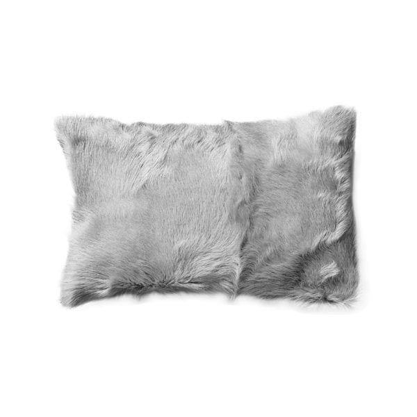 Coussin en fourrure - Gris - Bloomingville - Songes - 79200006