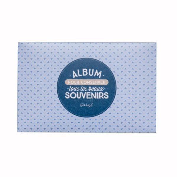 Album photo - Souvenirs - Mr. Wonderful - Songes - 8435460702652