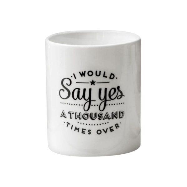 Mug - Say yes - Mr. Wonderful - Songes - 8436547185832