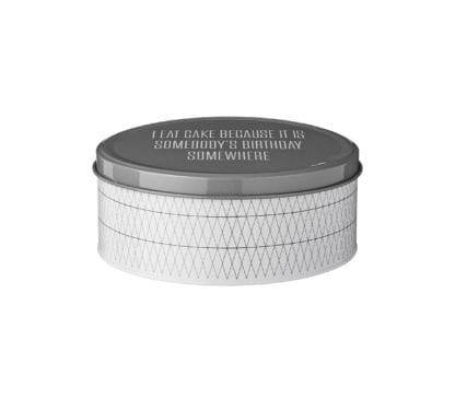 Boîte en métal - M