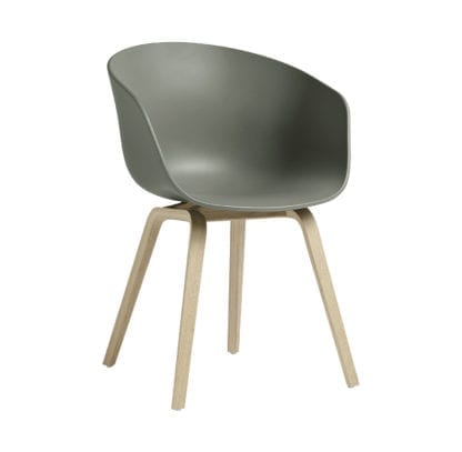Chaise AAC 22 - Dusty green
