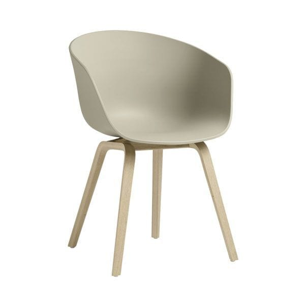 Chaise AAC 22 - Pastel green - Hay - Songes - AAC22 Oak Soaped Base pastel green