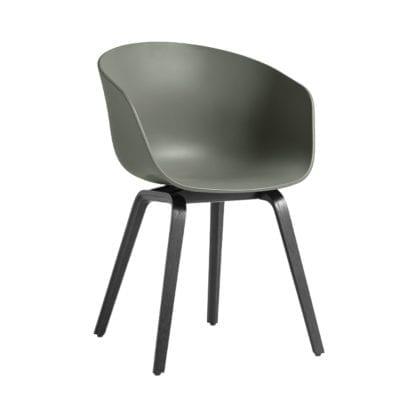 Chaise AAC 22 - Dusty green (noir)
