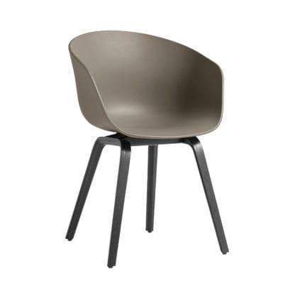 Chaise AAC 22 - Khaki (noir)