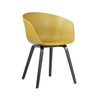 Chaise AAC 22 - Mustard (noir)