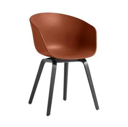 Chaise AAC 22 - Orange (noir)