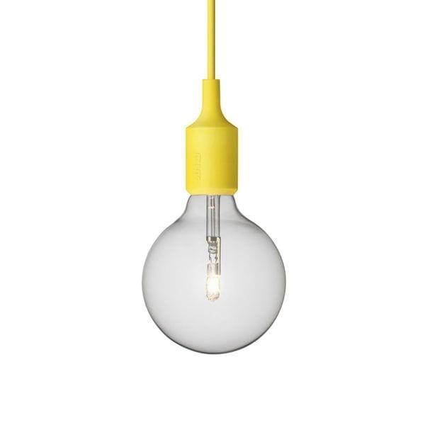 Suspension E27 - Jaune - Muuto - Songes - Suspension E27 jaune