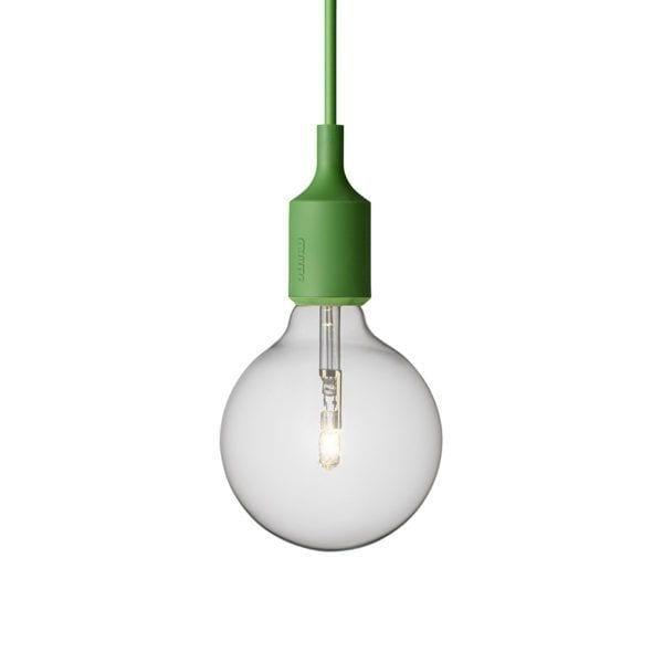Suspension E27 - Vert - Muuto - Songes - Suspension E27 vert
