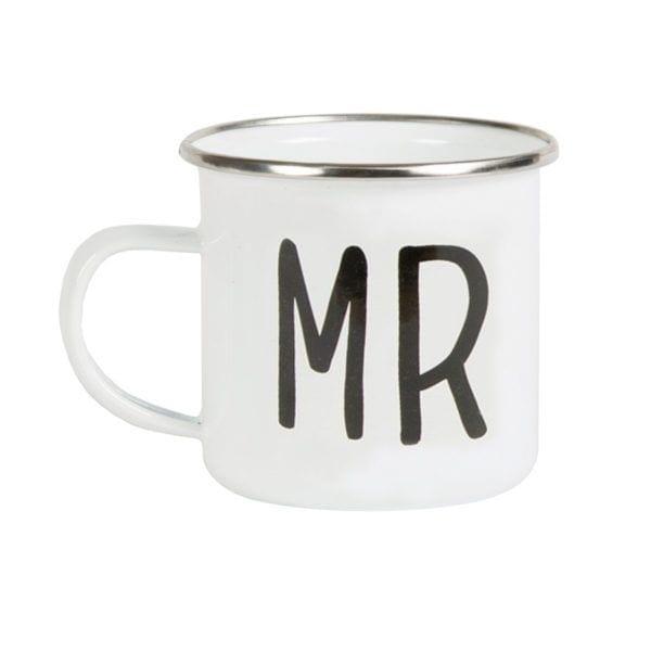 Mug émaillé - Mr - Sass & Belle - Songes - EN021-a