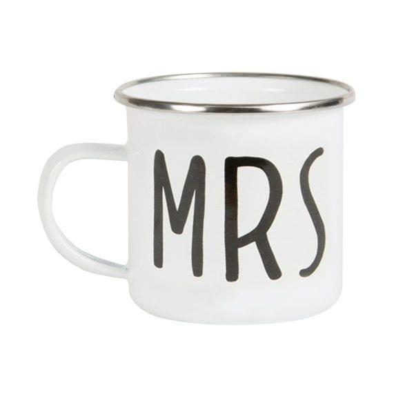 Mug émaillé - Mrs - Sass & Belle - Songes - EN021-b