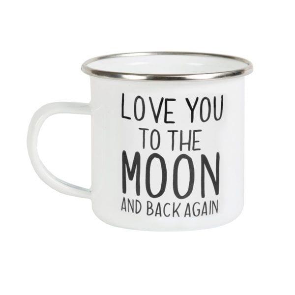 Mug émaillé - Moon - Sass & Belle - Songes - EN030