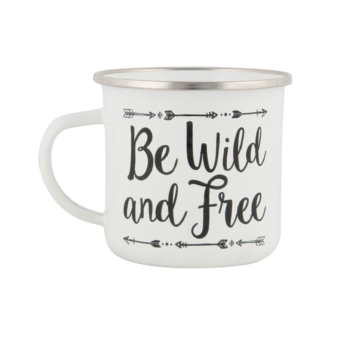 Mug émaillé - Wild and free