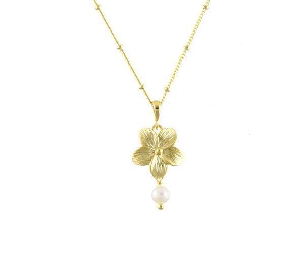 Collier - Fleur & Perle - Fleur Envy - Songes - FE-NL047__L3