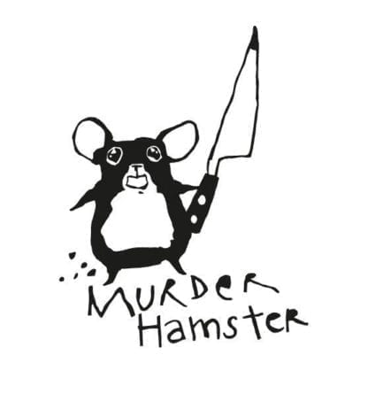Sticker murder hamster
