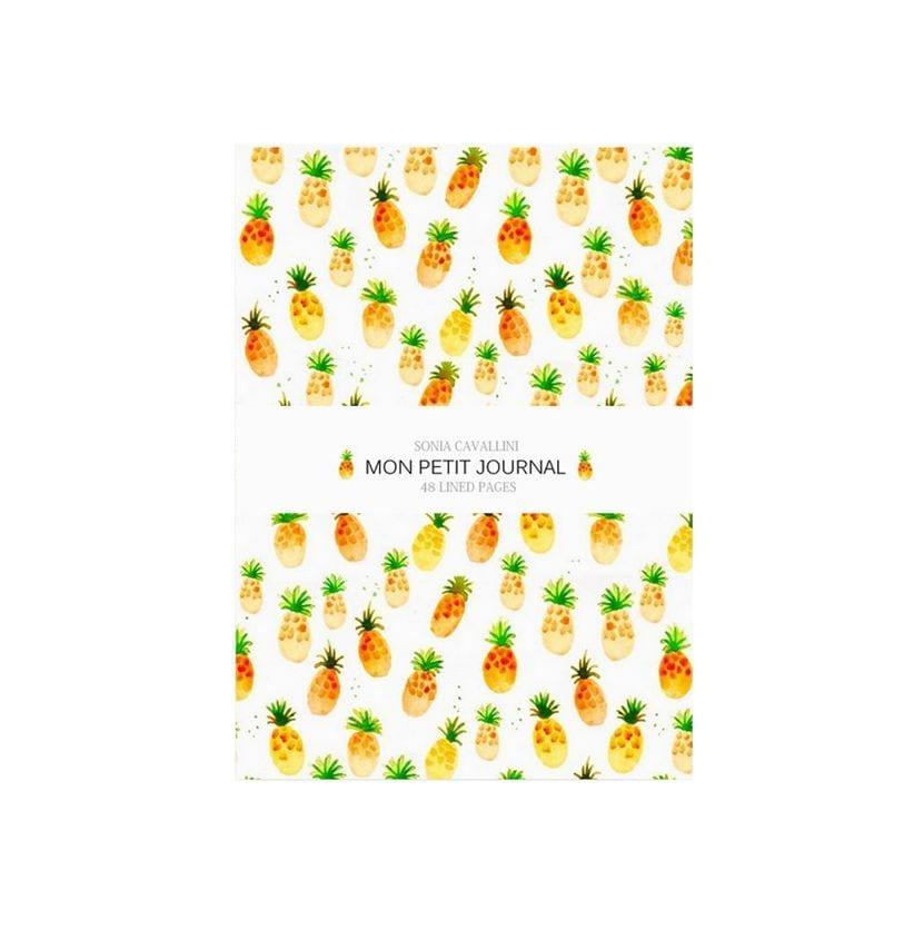 Carnet - Ananas