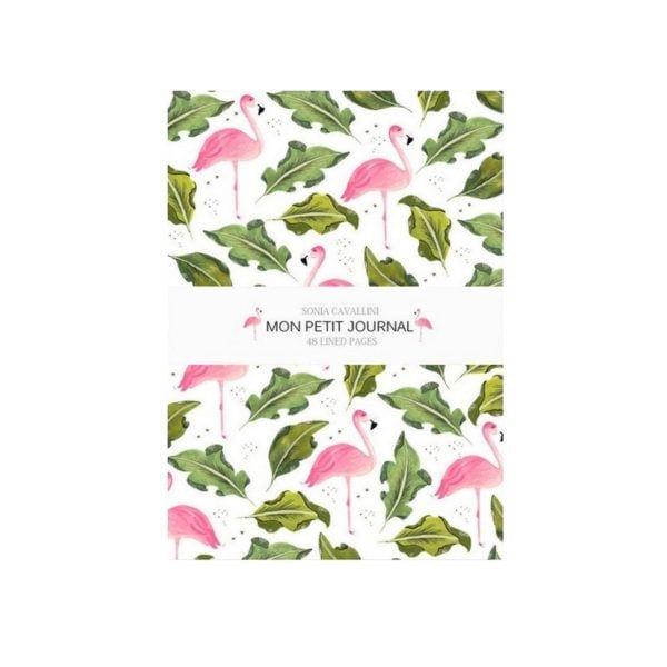 Carnet - Flamant rose - Sonia Cavallini - Songes - NB0016