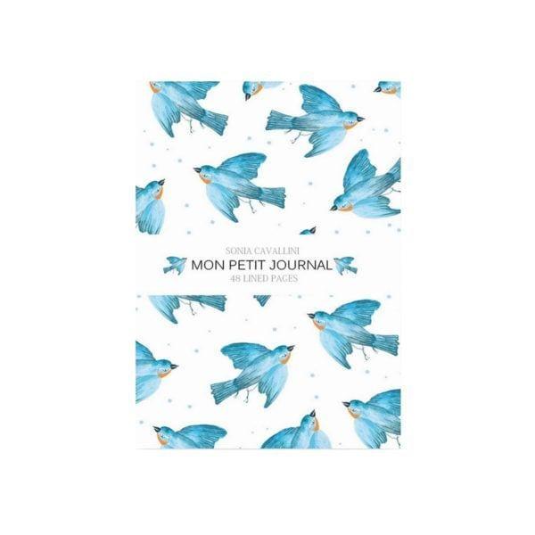 Carnet - Hirondelle - Sonia Cavallini - Songes - NB0021