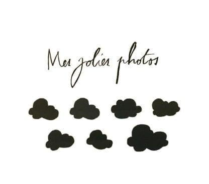 Sticker mes jolies photos