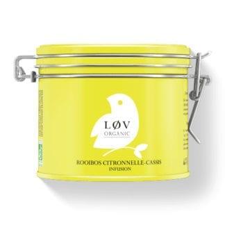 Thé en boîte - Rooibos Citronnelle-Cassis