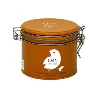 Thé en boîte - Rooibos Orange-Cannelle