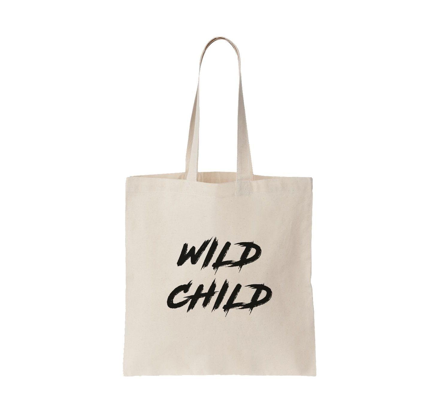 Tote bag wild child