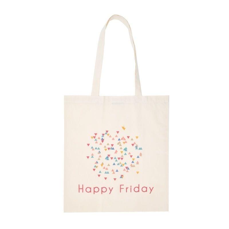 Tote bag happy friday
